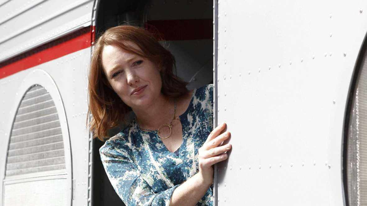 Paula Hawkins, 'La chica del tren', escritora novel y superventas