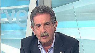 """Miguel Ángel Revilla, presidente de Cantabria: """"Este es el pacto más lógico del mundo, nos hemos quedado a un escaño de la mayoría absoluta"""""""
