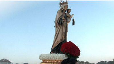 Los marineros celebran el d�a de la Virgen del Carmen