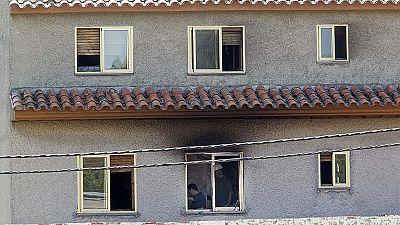 La Guardia Civil toma declaración a los testigos del incendio de la residencia en Zaragoza