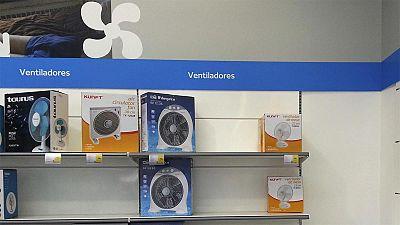 La ola de calor dispara la venta de aires acondicionados