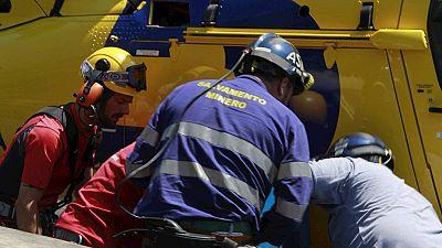 Muere un minero que quedó atrapado en un derrumbe en la mina asturiana de Cerredo