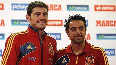 Iker Casillas y Xavi Hernández, galardonados con la Gran Cruz al Mérito Deportivo