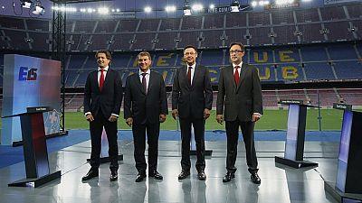 Los socios del Barça escogen presidente este sábado