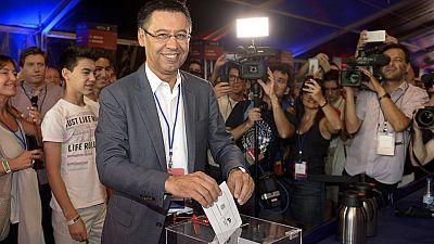 Alta participación en las elecciones a la presidencia culé