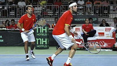 El dúo ruso sorprende a Marc López y David Marrero y mantiene viva la eliminatoria