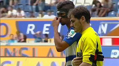 Casillas deja la portería a cero en su debut con el Oporto