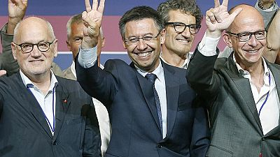 Bartomeu, presidente del Barça hasta 2021