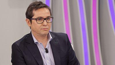 """Sergio Mart�n, director del Canal 24 Horas: La entrevista a Pablo Iglesias """"fue un momento duro"""""""