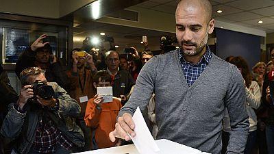 Guardiola 'ficha' por la lista unitaria de Mas y Junqueras para el 27-S