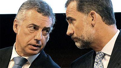 El rey vuelve a apelar a la unidad de España en un discurso en Bilbao
