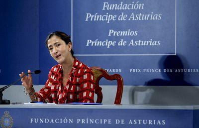 Rueda de prensa íntegra de Betancourt agradeciento el Príncipe de Asturias