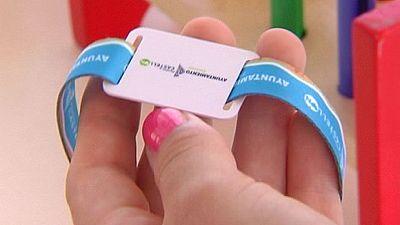 Pulseras inteligentes para los niños perdidos en las playas de Castellón