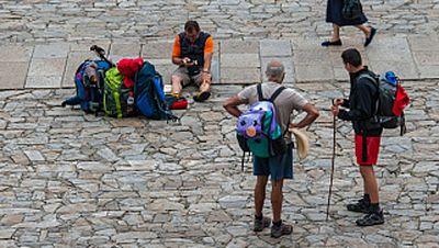 R�cord de peregrinos en el Camino de Santiago