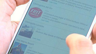 'Apps' playeras que localizan el chiringuito más cercano o informan del tiempo