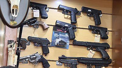 ¿Puede un menor adquirir un arma de aire comprimido?