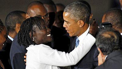 Kenia ofrece una cálida bienvenida a Barack Obama