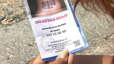 Agentes de Extranjería recorren las carreteras en Girona para luchar contra la trata de blancas