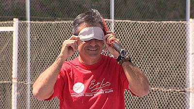 Málaga, Valencia y Madrid abren las primeras escuelas de tenis para ciegos