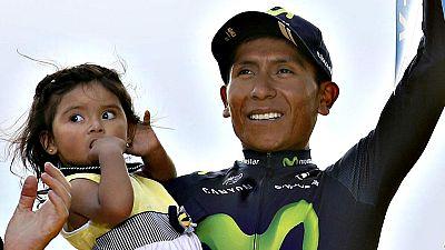 """El colombiano Nairo Quintana se mostr� """"orgulloso"""" del segundo puesto logrado en el Tour de Francia y asegur� que se lo puso dif�cil al ganador, el brit�nico Chris Froome. """"Creo que Froome es un gran rival y que yo le he hecho sufrir para ganar. Es u"""