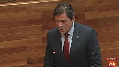 Parlamento - Otros parlamentos - Investidura en Asturias - 25/07/2015