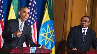 Obama llega a Etiopía, primera visita de un presidente norteamericano al país