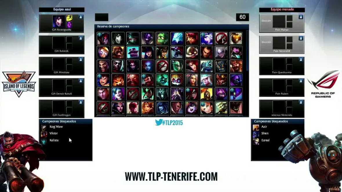 TLP Tenerife: 1ª Semifinal de League of Legends - Underdoges vs Pain Gaming