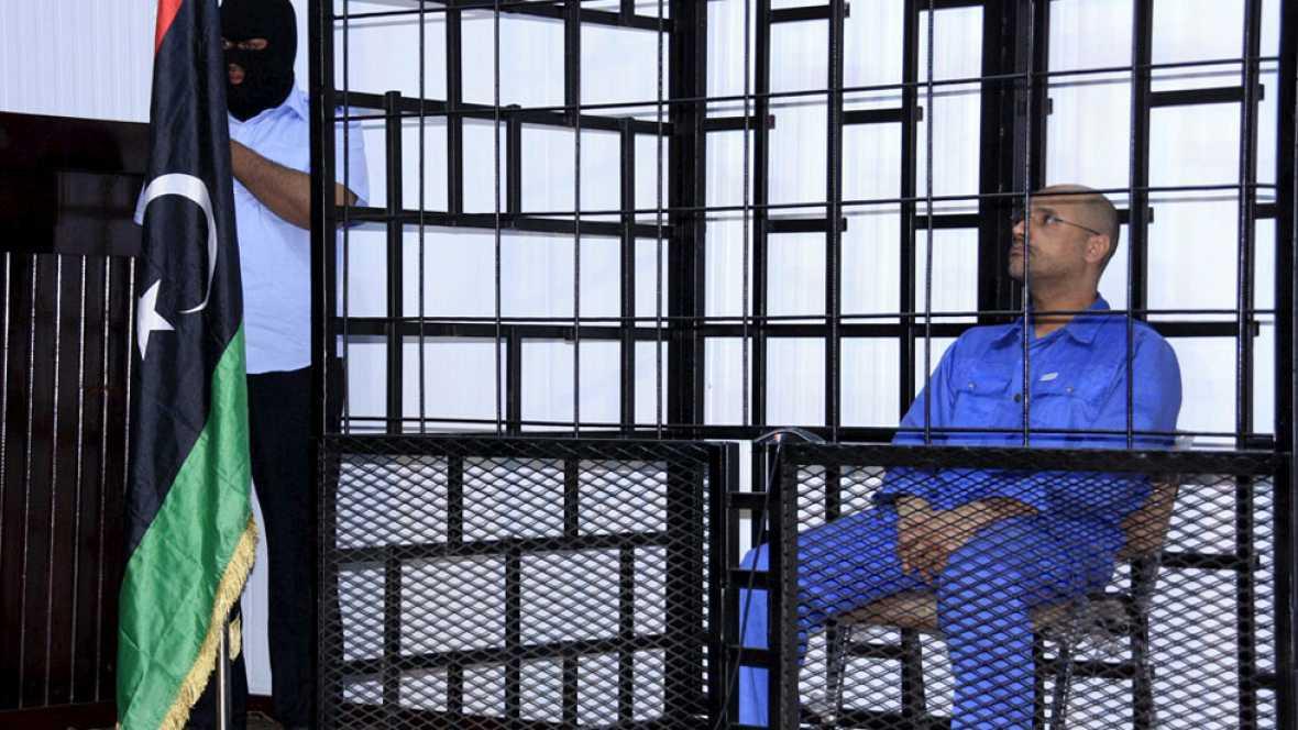 Un tribunal libio ha condenado a muerte a Saif-Al-Islam, el hijo de Gadafi