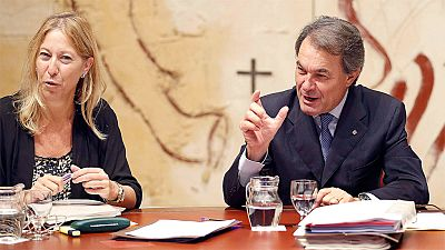 """El Gobierno catalán considera """"inadmisible"""" que se multe por los silbidos al himno"""