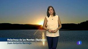 El Tiempo en Extremadura - 28/07/15