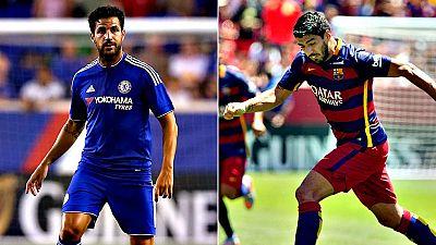 El FC Barcelona se despide este miércoles de la gira por Estados  Unidos con un último partido amistoso de la 'International Champions Cup en el que intentará acabar con el Chelsea FC de  José Mourinho y Cesc Fàbregas para recuperarse del 1-3 encajad