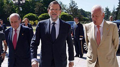 """Rajoy, a Margallo sobre los ataques de Maduro: """"¿Pero ese tortazo por qué?"""""""