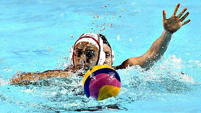La selección española de waterpolo femenino sigue con su camino  triunfal en el Mundial de Kazán (Rusia) tras deshacerse de Nueva  Zelanda (23-2) con gran autoridad en la segunda jornada de la primera  fase de competición, un duelo en el que destacó