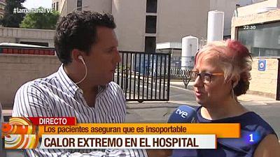 La Ma�ana - Calor extremo en el Hospital Morales Meseguer