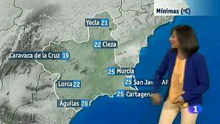 El tiempo en la Región de Murcia - 29/07/2015
