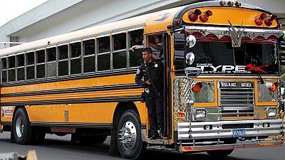 Seis conductores de autobús mueren en El Salvador a manos de las Maras por no secundar su huelga
