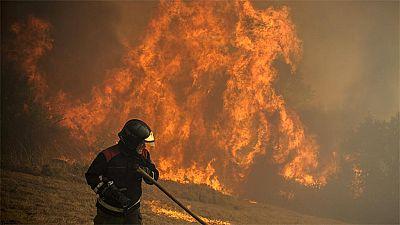 Detenido un sospechoso de provocar el incendio de Ourense