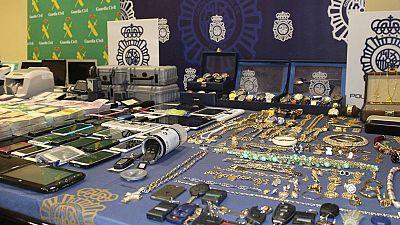 Detenidos los presuntos miembros de una banda organizada acusados de blanquear grandes cantidades de dinero del narcotráfico