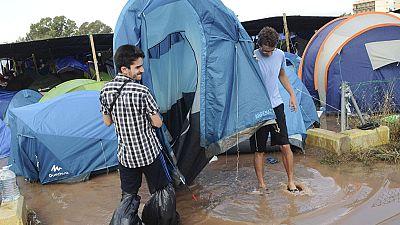 Las lluvias torrenciales hacen estragos en la provincia de Castellón