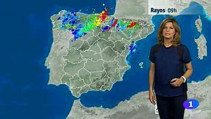 El Tiempo en la Comunidad de Navarra - 31/07/2015