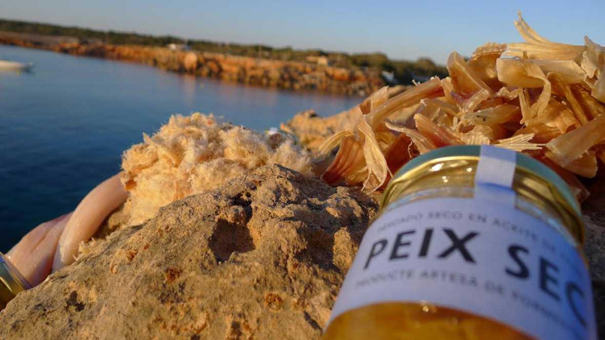 Pescado seco sostenible en Formentera