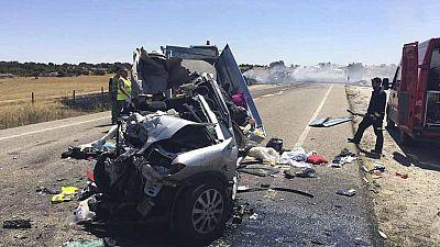 Mueren tres menores en un accidente de tráfico en Zamora