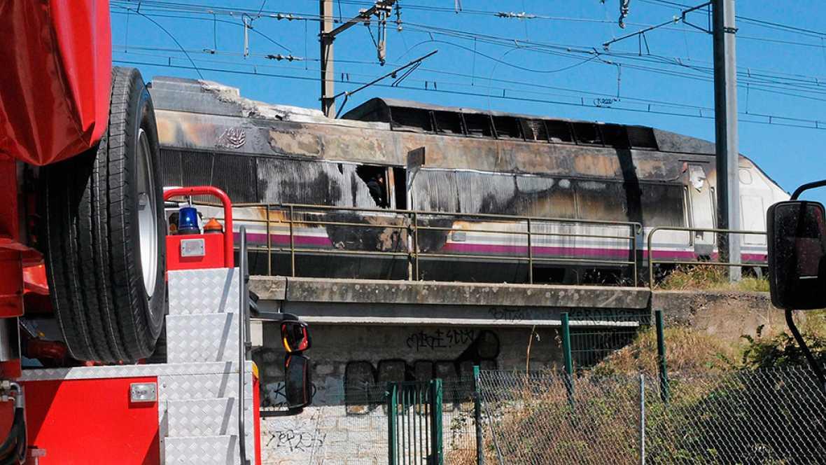 El AVE que hac�a el trayecto entre Marsella y Madrid ha sufrido un incendio