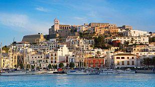 Intervalos de nubes en las Islas Baleares