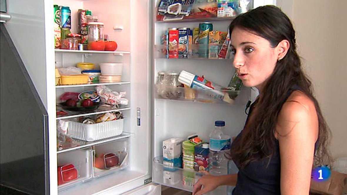 La forma de ordenar los alimentos en la nevera influye en for Como ordenar la nevera