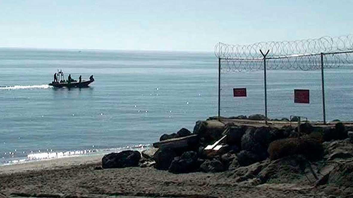 Mueren cuatro subsaharianos que trataban de llegar a nado a Ceuta