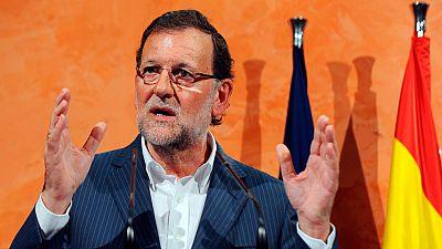 Rajoy afirma que 'nadie va a romper España' y que el gobierno 'no va a dejar sin amparo a los catalanes'