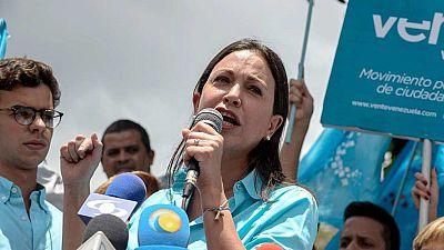 Corina Machado no podrá presentarse a las elecciones parlamentarias en Venezuela