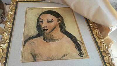 Incautado un cuadro de Picasso valorado en más de 25 millones de euros