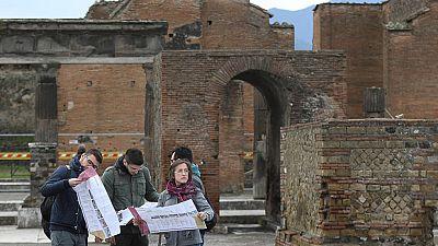 Pompeya recupera su 'Gimnasio Grande' tras siete años de restauración